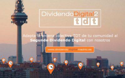 A partir del próximo 14 de Noviembre se podrán adaptar las comunidades al Segundo Dividendo Digital