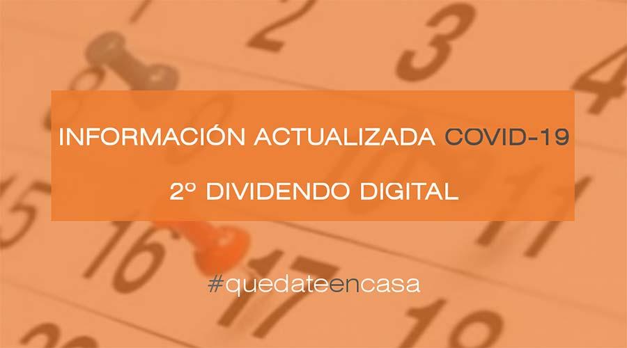 El Gobierno aplaza la fecha para realizar las adaptaciones de la TDT al Segundo Dividendo Digital por el estado de alarma COVID-19