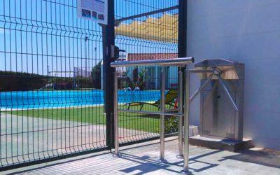 Control de Accesos para piscinas en comunidades con gestión remota